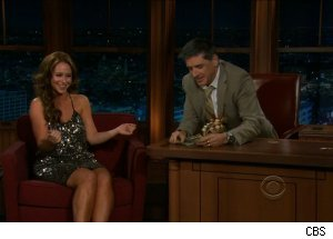 Jennifer Love Hewitt, 'The Late Late Show with Craig Ferguson'
