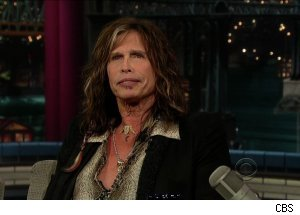 Steven Tyler, 'Late Show with David Letterman'