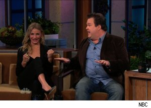 Cameron Diaz & Eric Stonestreet, 'The Tonight Show with Jay Leno'