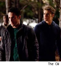 Michael Trevino and Paul Wesley
