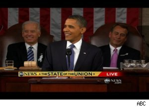 Obama Jokes During 'State of the Union'