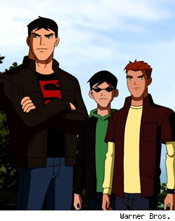 Superboy, Robin, Kid Flash