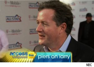 Piers Morgan Talks Larry King on 'Access Hollywood Live'