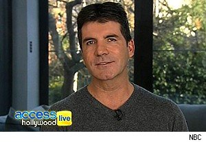 Simon Cowell, Paul Abdul, 'X Factor,' 'Access Hollywood Live'
