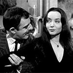 Morticia and Gomez, Addams Family
