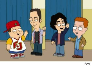 'Entourage' Spoof on 'American Dad'