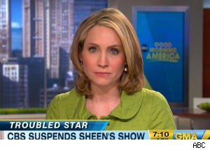 Correspondent Andrea Canning Shares Texts From Charlie Sheen