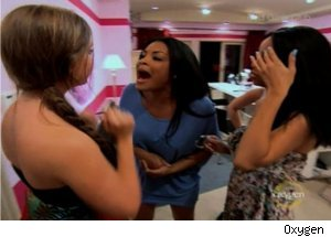 Char, Lauren Fight on 'Bad Girls Club'