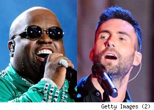 Cee Lo Green, Adam Levine, The Voice