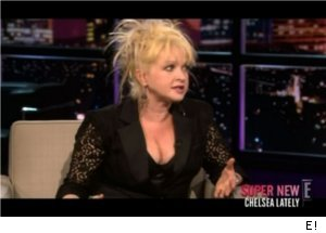 Cyndi Lauper Jokes on 'Chelsea Lately'