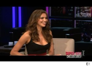Sports Illustrated 2011 Swimsuit Edition cover model Irina Shayk, 'Chelsea Lately'