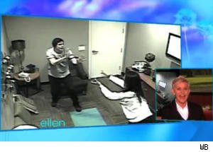 Hidden Camera Prank With Cory Monteith Doesn't Go as Planned on 'Ellen'