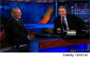 Donald Rumsfeld on 'The Daily Show'