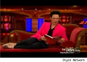 Johnny Weir Reads Memoir on 'The Dish'
