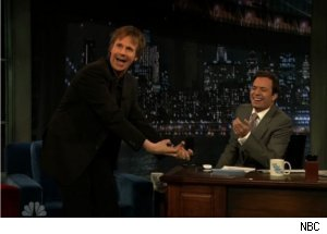 Dana Carvey Does a Skit on 'Late Night'
