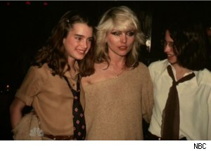 Brooke Shields Met Debbie Harry at Studio 54