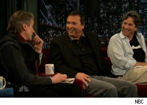 Jeremy Irons Talks to Farrelly Brothers on 'Late Night'