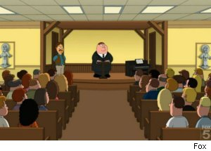 Peter Has Fake AA Meeting on 'Family Guy'