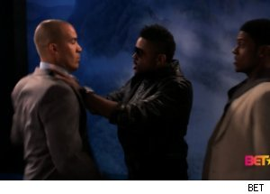 Malik Fights Jason, Derwin on 'The Game'