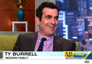 Ty Burrell daughter first steps