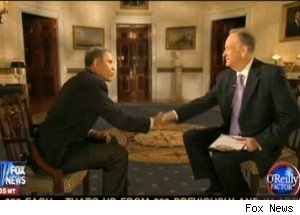 Barack Obama and Bill O'Reilly's handsake analyzed by body language expert.
