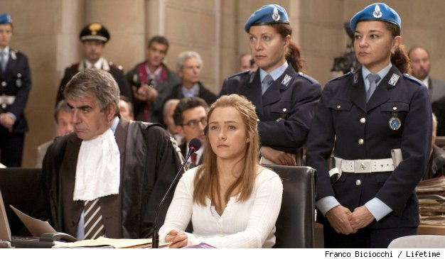 Hayden Panettiere stars in 'Amanda Knox: Murder on Trial in Italy' on Lifetime