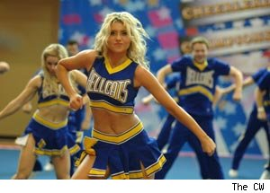 Aly Michalka, Hellcats, Cheerleaders