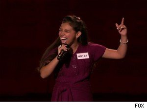 Victoria Huggins, American Idol