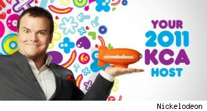 Jack Black will host 'Nickelodeon's 2011 Kids Choice Awards,' will will air in April.