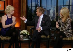 January Jones Likes Being Mean, Regis Tries a Scottish Accent (Again)