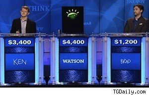 Ken Jennings and Brad Rutter take on IBM's 