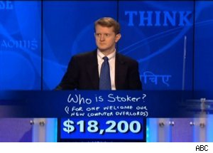 Ken Jennings, 'Jeopardy!' IBM supercomputer artificial intelligence Watson