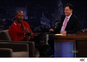 Jamie Foxx, 'Jimmy Kimmel Live'