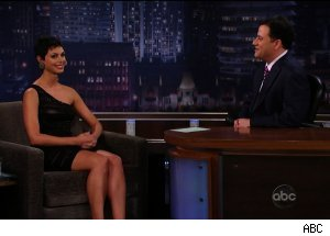 Morena Baccarin, 'Jimmy Kimmel Live'
