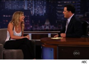 Cameron Diaz, 'Jimmy Kimmel Live'