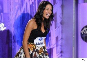 Julie Zorrilla wows the judges on American Idol.