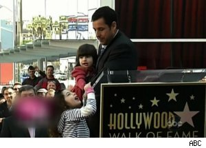 Adam Sandler Gets Hollywood Walk of Fame Star