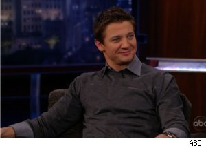 Jeremy Renner Talks Christina Aguilera on 'Jimmy Kimmel Live'