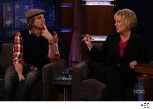 Dax Shepard, Nancy Grace Talk Lies on 'Kimmel'