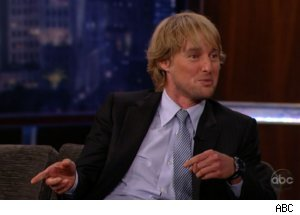Owen Wilson Talks Paintball on 'Kimmel'