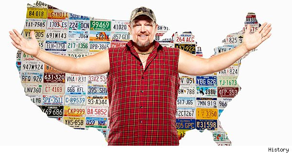 Larry the Cable Guy, 'Only in America'