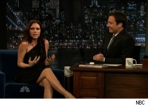 Victoria Beckham pregnant, 'Late Night with Jimmy Fallon'
