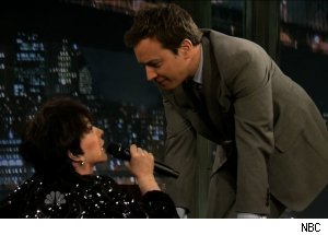 Liza Minnelli, 'Late Night with Jimmy Fallon'