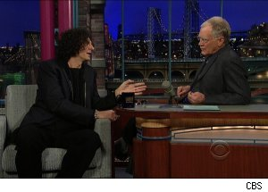Howard Stern, 'Late Show with David Letterman'