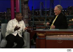 Martin Lawrence, 'Late Show with David Letterman'
