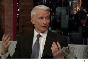 Anderson Cooper, 'Late Show with David Letterman'