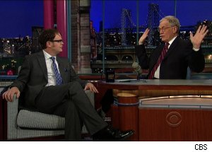 Rainn Wilson, 'Late Show with David Letterman'