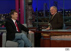 Rand Paul talks Al Franken, his Senatorial mentor, 'Late Show with David Letterman'
