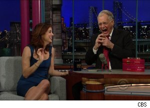 Kate Walsh, 'Late Show with David Letterman'