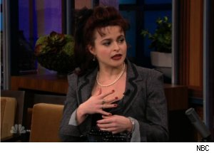Helena Bonham Carter Talks Tim Burton on 'Tonight'